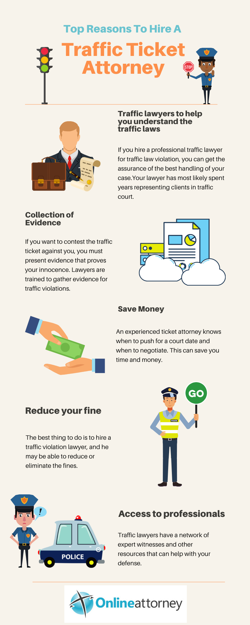 Top reasons to hire a Traffic Ticket attorney