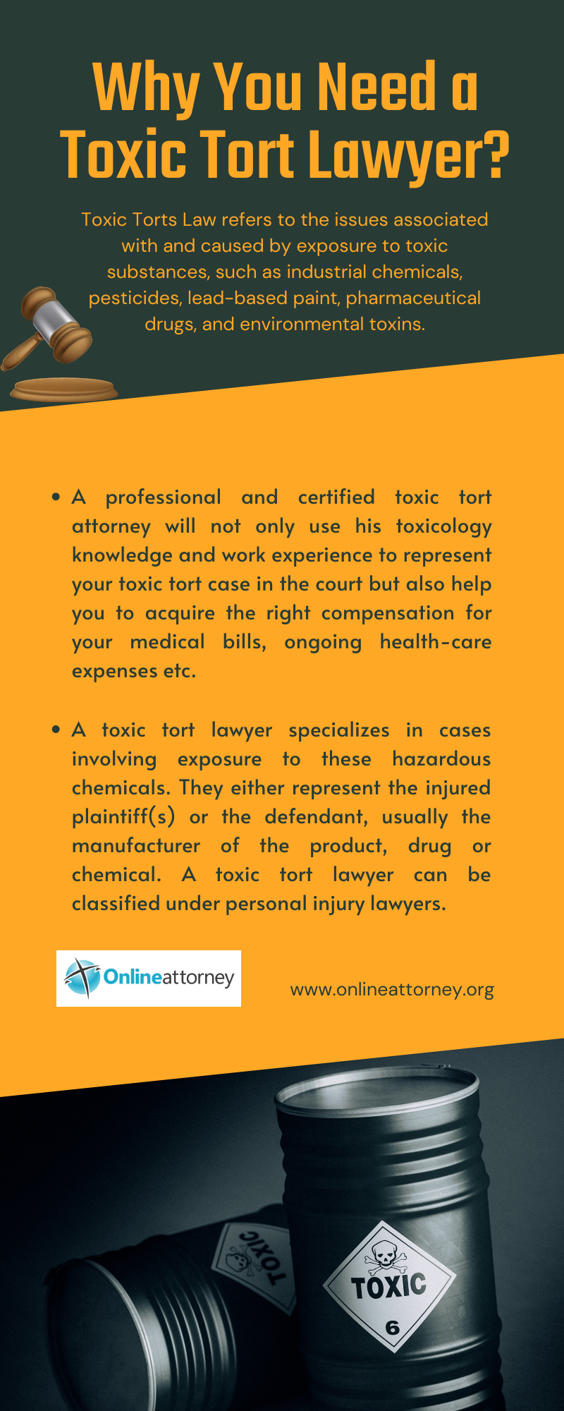 Why You Need a Toxic Tort Lawyer